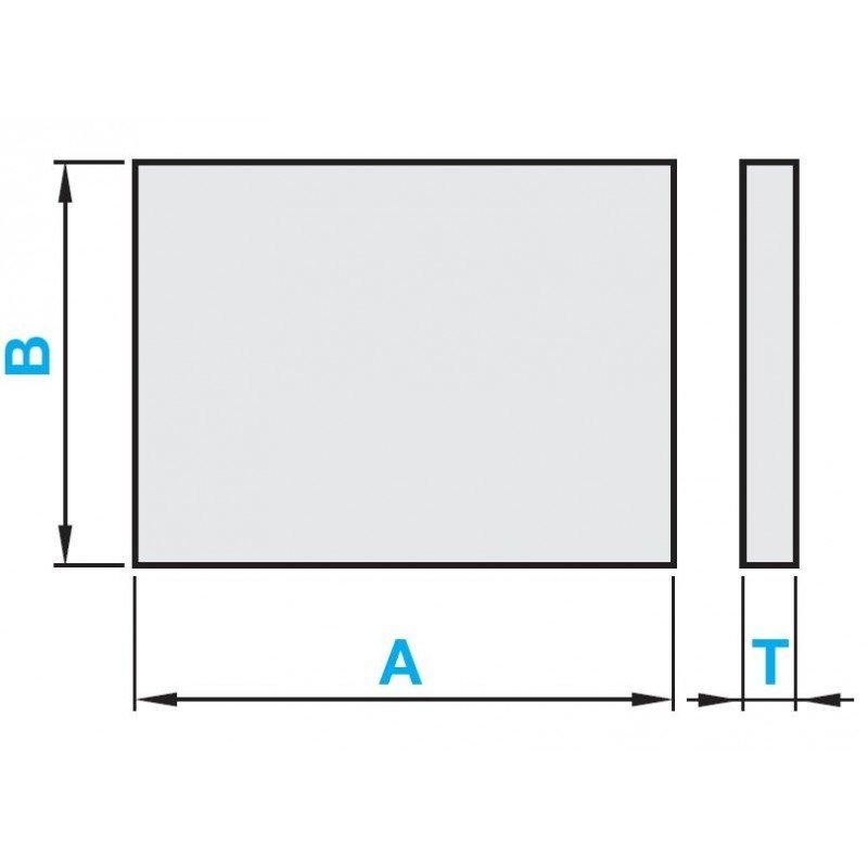 Plaque Aluminium épaisseur 1 Mm Systéal