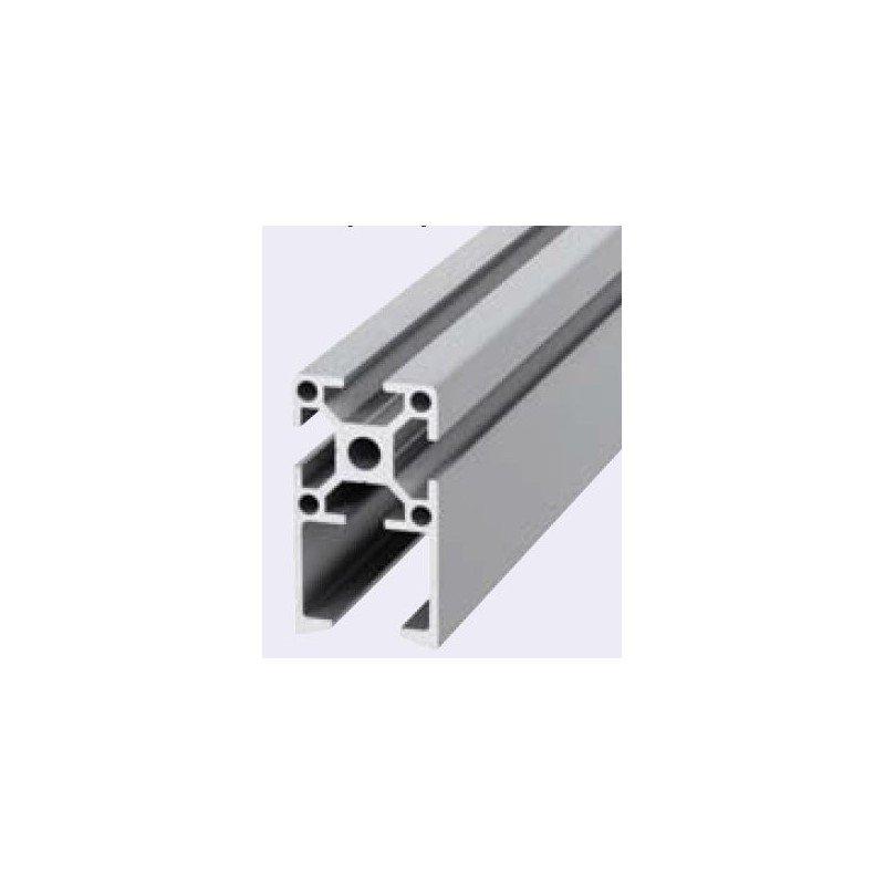 Profil Aluminium X Fente  Mm  Pour Porte Coulissante  Systal