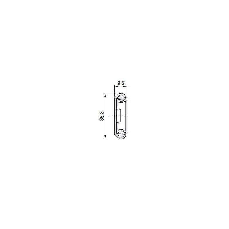 Glissi re t l scopique pour charge moyenne course de 229 508 mm syst al - Charge locative moyenne ...