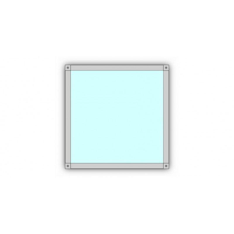 profil en h pour cadre paisseur 3 mm largeur 30 mm. Black Bedroom Furniture Sets. Home Design Ideas