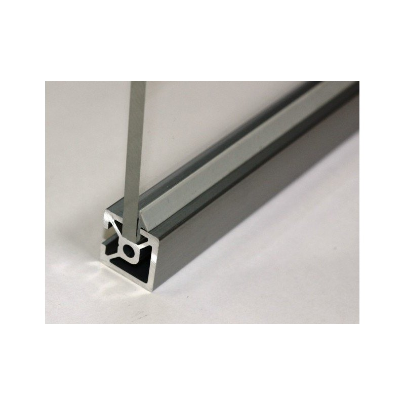 Insert Seals For Aluminium Profiles With 6mm Slot For