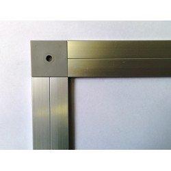 Raccord pour profilé cadre épaisseur 3mm - Largeur 30mm