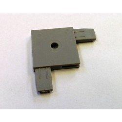 Raccord pour profilé cloison épaisseur 3mm - Largeur 30mm