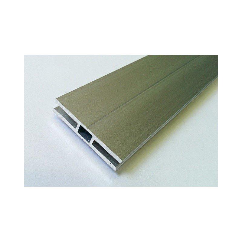 Profilé en H pour cadre épaisseur 5 mm - largeur 40 mm