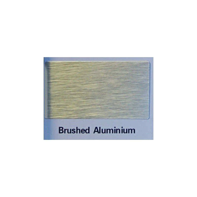 brushed aluminium sandwich panel 3mm thick alupanel dibond