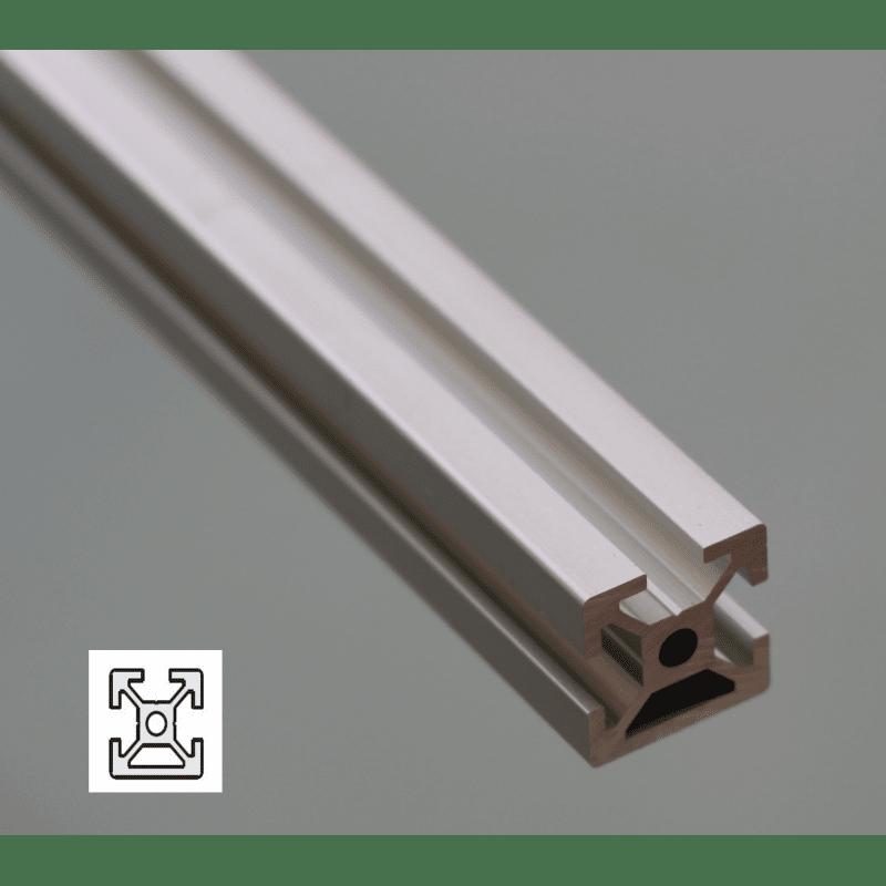 Profilé aluminium 20x20 fente 6 mm