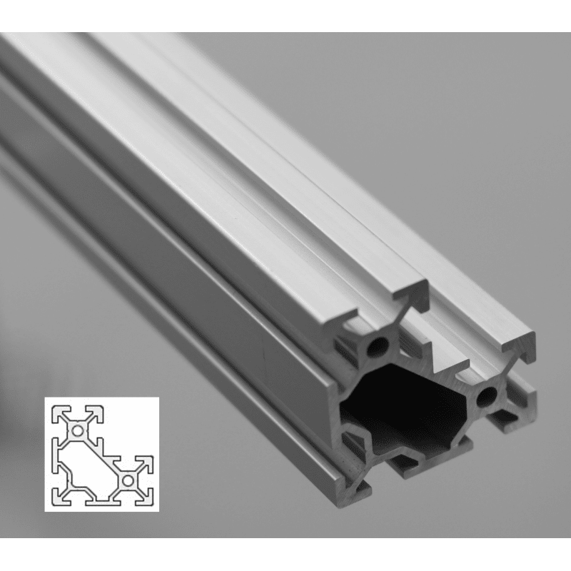 L-Shape Aluminium Profile 6mm Slot 40x40x20