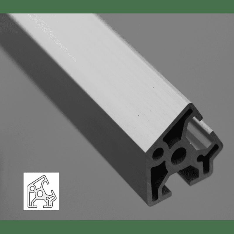 profil aluminium 30x30 angle de 60 fente de 8 mm syst al. Black Bedroom Furniture Sets. Home Design Ideas