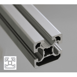 Aluminium profile 40x40 10mm slot