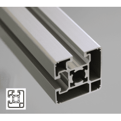 Profile 45x45 10mm slot – light