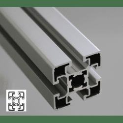 Profilé aluminium 45x45 fente 10 mm - type léger