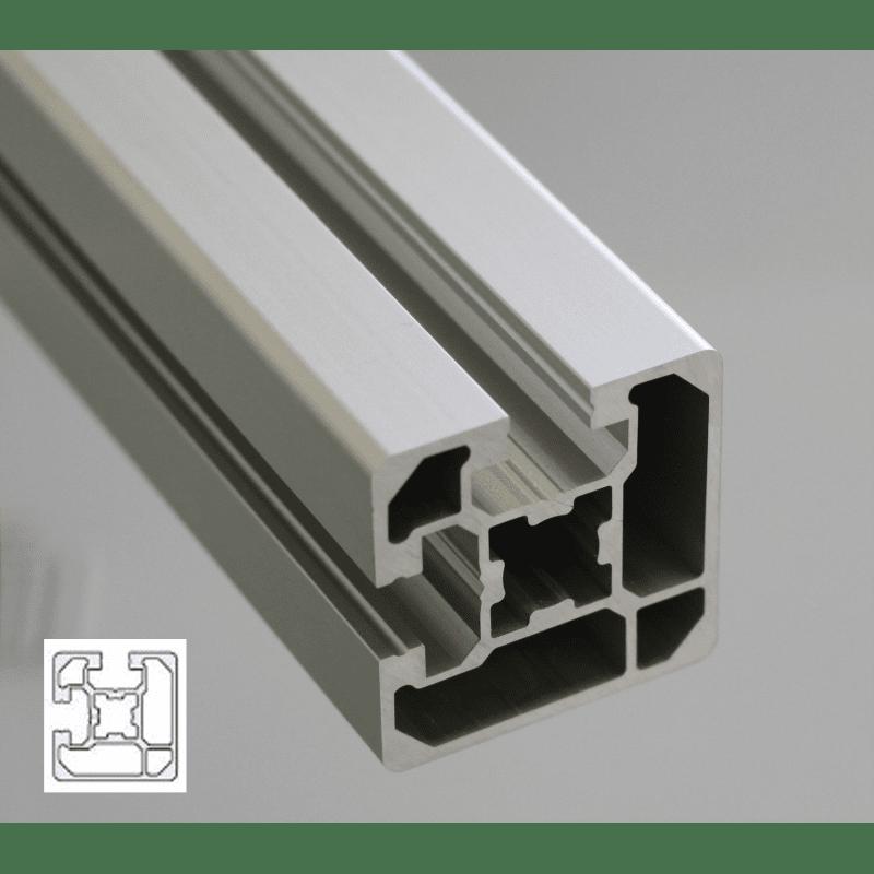 aluminium profile 45x45 10mm slot syst al. Black Bedroom Furniture Sets. Home Design Ideas