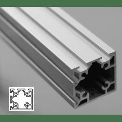 Profilé aluminium 40x40 fente 6 mm