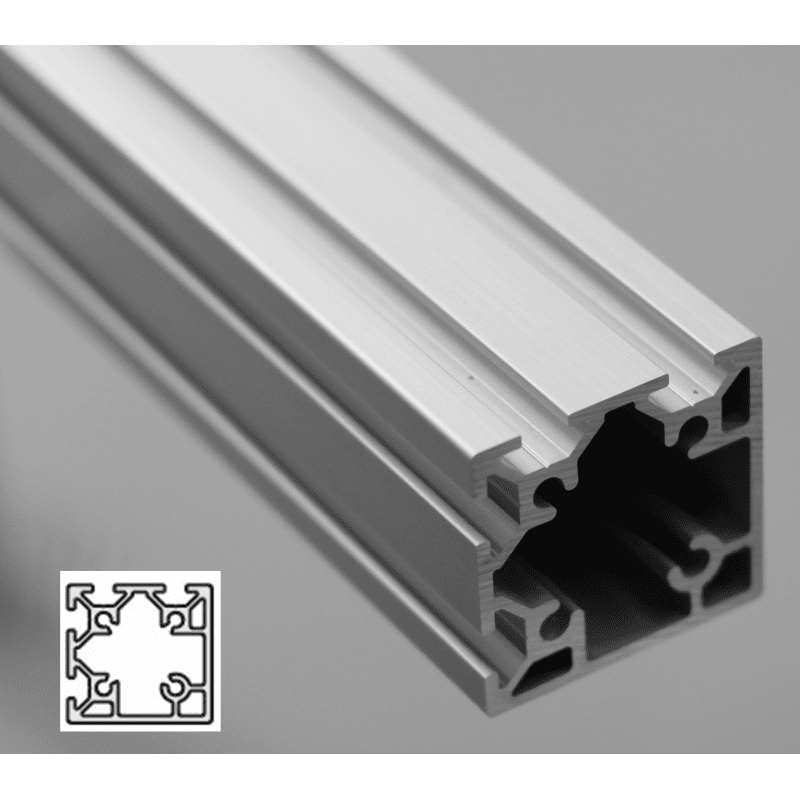 Aluminium Profile 6mm Slot 40x40