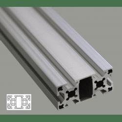 Profil s aluminium rainure 6 mm syst al - Profile aluminium rectangulaire ...