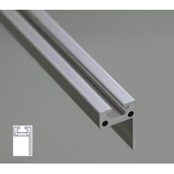 L-Shape Aluminium Profile 6mm Slot 30x20