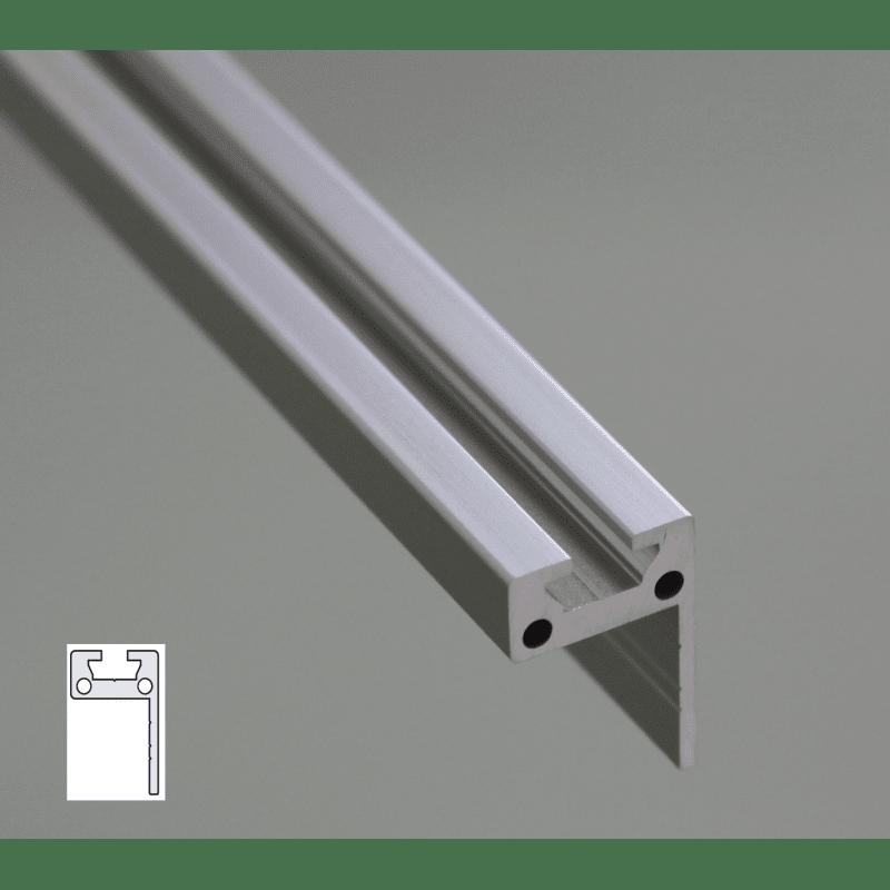 L Shaped Flat Aluminium Profile 30x20 6mm Slot Syst 233 Al
