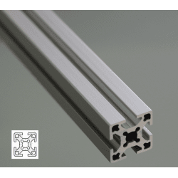 Aluminium Profile 6mm Slot 25x25