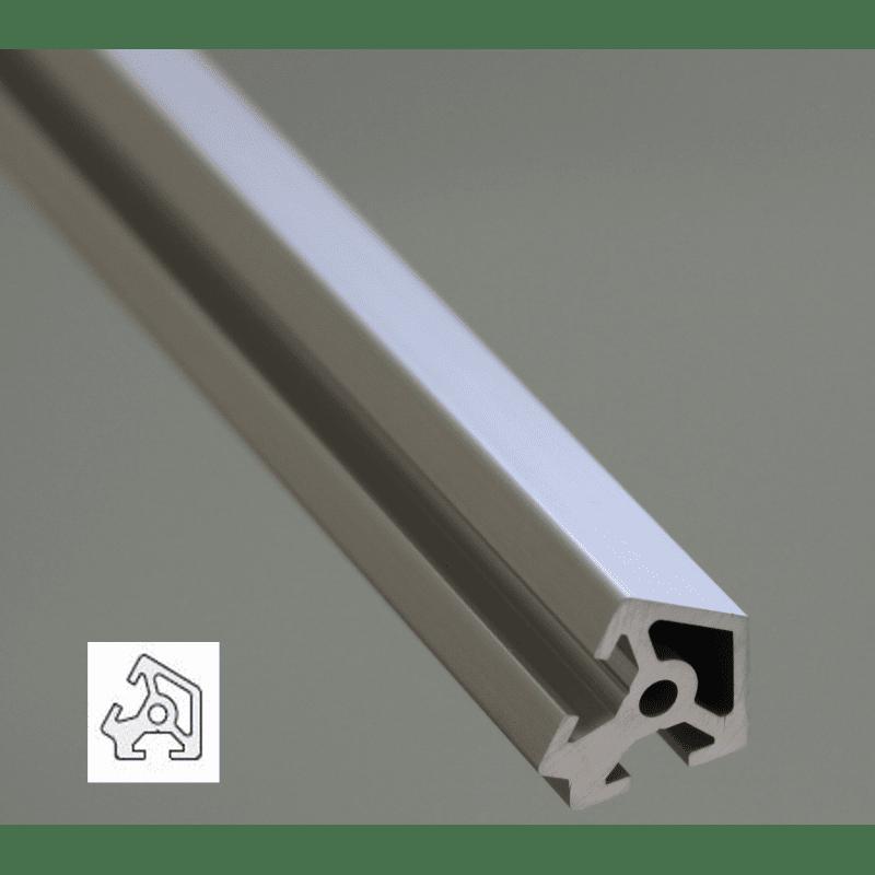 Aluminium Profile 6mm Slot 20x20 Angle 60°