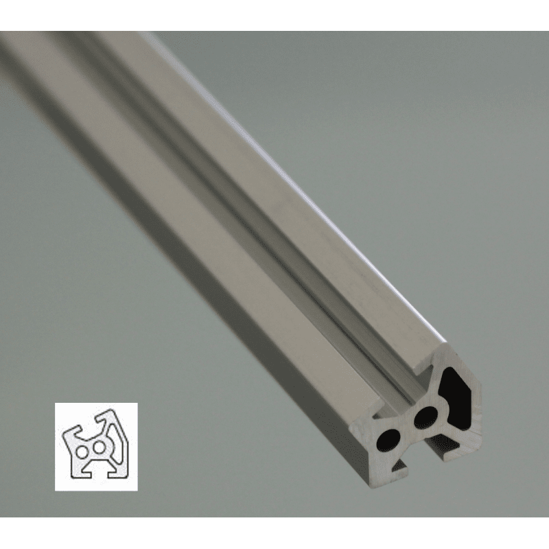 Aluminium Profile 6mm Slot 20x20 Angle 30°