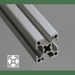 Aluminium profile 30x30 four 8mm slots