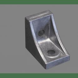 Equerre de fixation profilés 10 mm - pour fixation en croix - pour profilés 40 ou 80