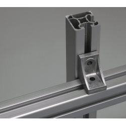 Fastening bracket for 10mm profiles – for cross fastening – for 40 or 80 profiles