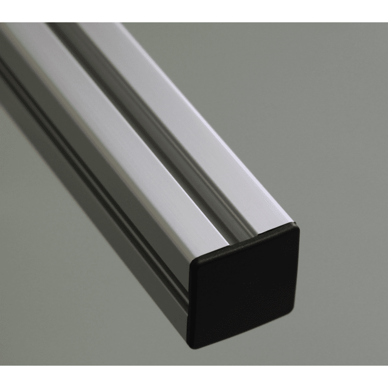 Accessoire profil s aluminium for Profile aluminium noir