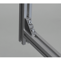 Fastening bracket for 6mm profile