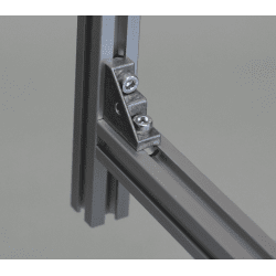 Fastening bracket for 6mm profiles + M5 fastening hole