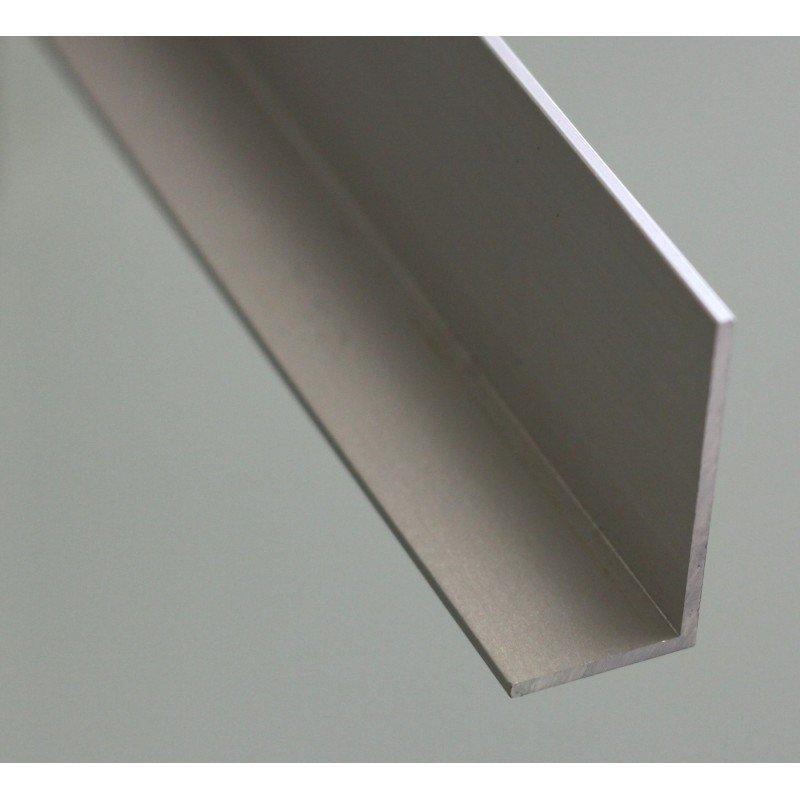 Profilé aluminium en L 75x75