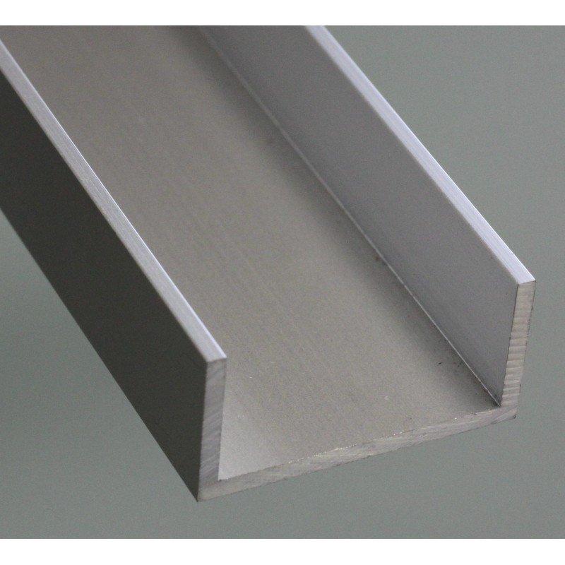 profil aluminium en u 15x30 syst al. Black Bedroom Furniture Sets. Home Design Ideas