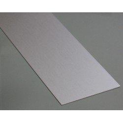 Flat aluminium profile 25mm thickness 5mm
