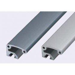 Poignées en profilé aluminium - Gris
