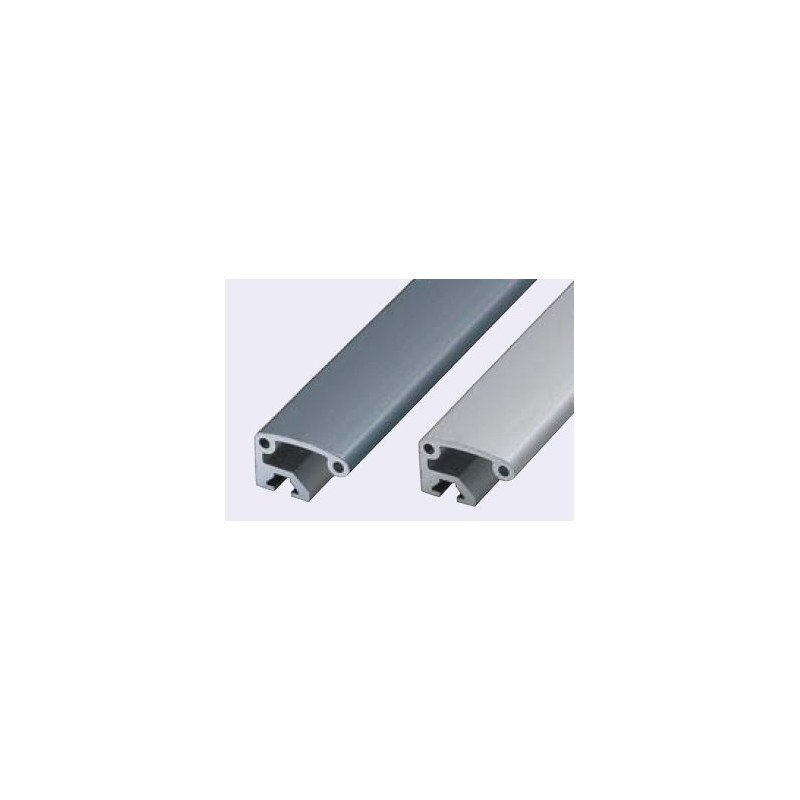 Poign es en profil aluminium anodis noir syst al for Profile aluminium noir