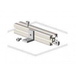 Equerre fine pour profilé aluminium fente de 8 mm