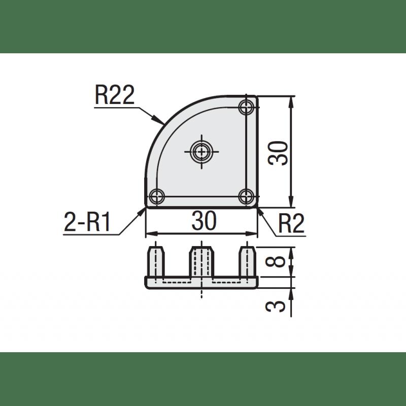 EMB-P8-3060-Gris