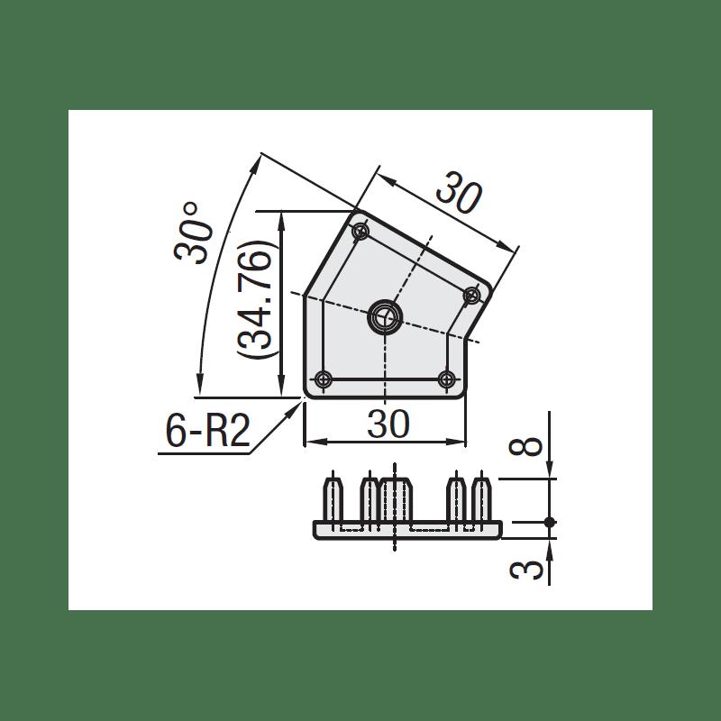 EMB-P6-VIS-2040-Noir