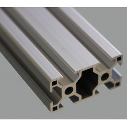 Aluminium profile 30x60 8mm slot