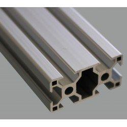 Profilé aluminium 30x30 fente 8 mm