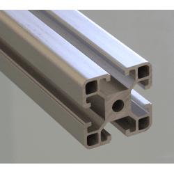 Aluminium profile 40x40 8mm slot I-Type