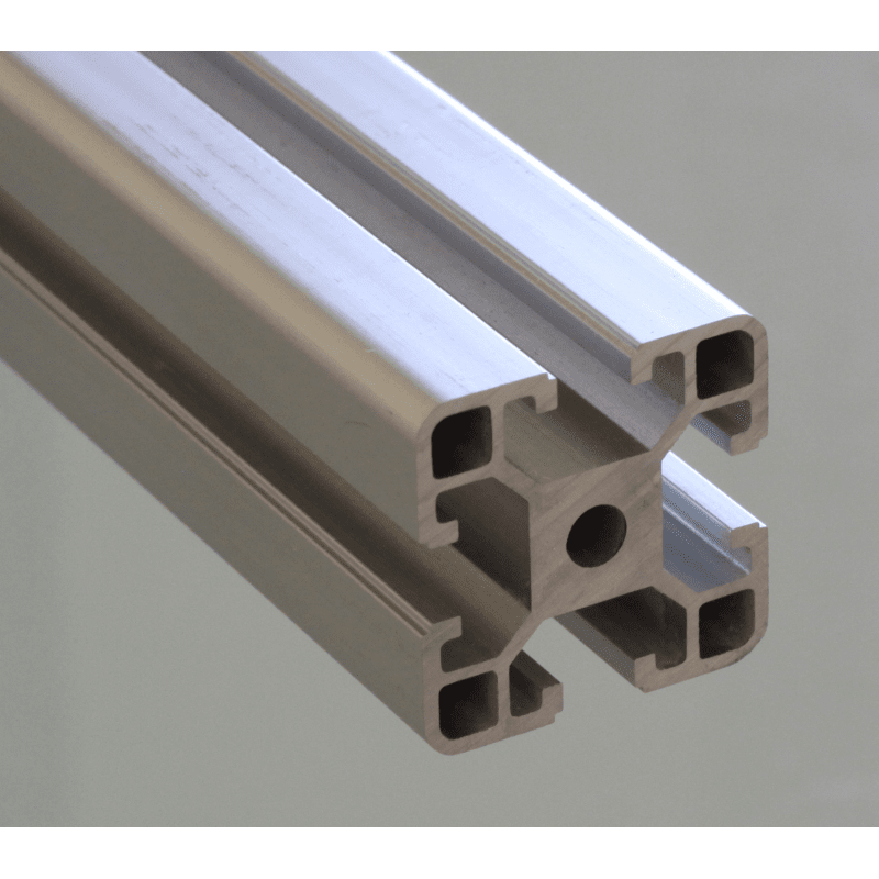 Aluminium Profile 40x40 8mm Slot Syst 233 Al
