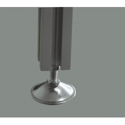 Leveling foot for 6 mm slot profile (M6)