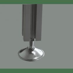 Pieds pour profilés à fente de 6 mm - Filetage M6