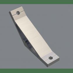 Equerre de fixation 45° pour profilés simple rainure 6 mm