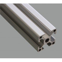 Aluminium profile 30x30 8mm slot – light version