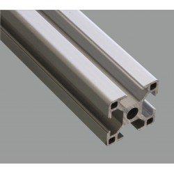 Profilé aluminium 30x30 fente 8 mm - Longueur 2000 mm