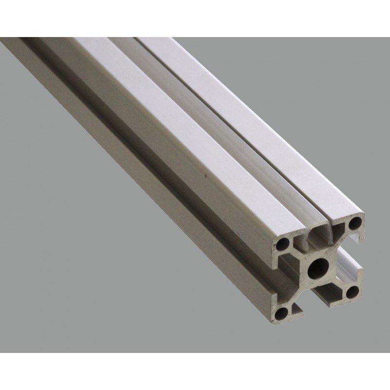 Cover profile - 10 mm slot - Grey