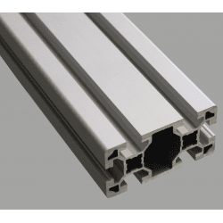 Aluminium profile 40x80 10mm slot