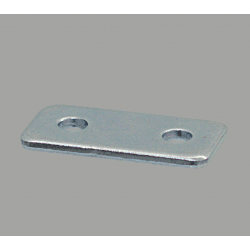Fastening plate for 40x40 profile with 10mm slot – With fixings